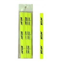 Griffabschlussband 10er neon-gelb