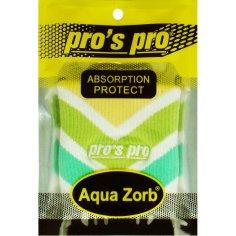 Aqua Zorb SCHWEISSBAND weiß/grün/gelb