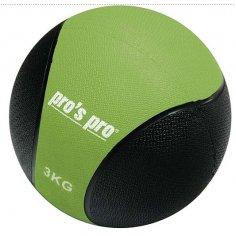 Medizinball 3 kg grün/schwarz