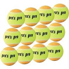 Beach Tennis Ball 12er gelb / orange