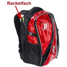 Pros Pro Rucksack rot-metallic