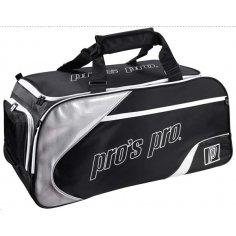 Pros Pro Tennistasche schwarz-silber