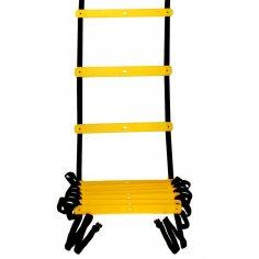 Koordinationsleiter 4 m flach - Agility Ladder