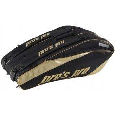 Pros Pro 12-Racketbag Gold