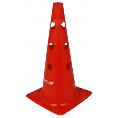 """Markierungskegel 15"""" (38 cm) gelocht, rot"""