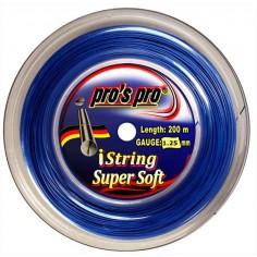 Pros Pro iString SUPER Soft 200 m signalblau 1.25