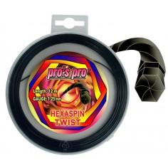 ***Hexaspin Twist 1.25 12 m schwarz