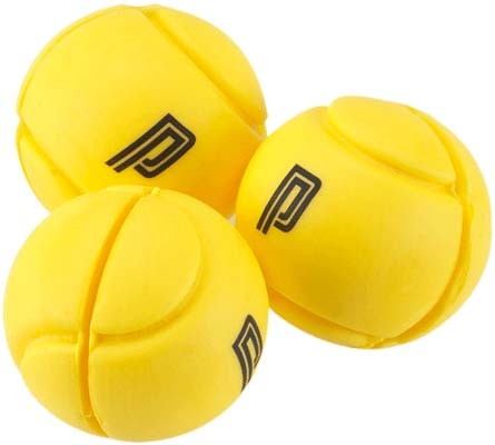 Pro's Pro Vibrationsdämpfer Tennis Ball Damper 3er gelb