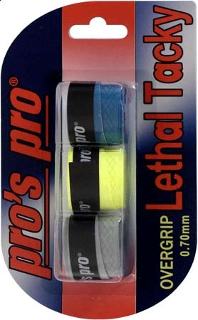 Pro's Pro Lethal Tacky Griffband strukturiert 0,7 mm 3er tricolor