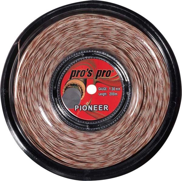 Pro's Pro Tennissaite 200 m Synthetik Pioneer 1,30 mm tiger-spiral