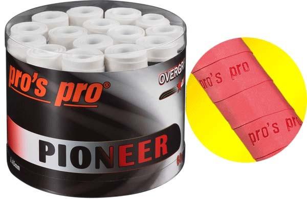 Pro's Pro Overgrips 60er Box Pioneer 0,45 mm weiss trocken