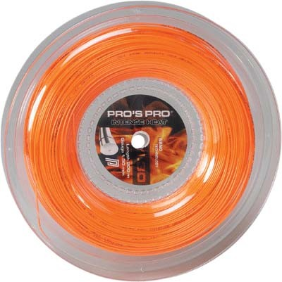Pro's Pro Tennissaite Polyester 200 m Intense Heat 1,25 mm orange