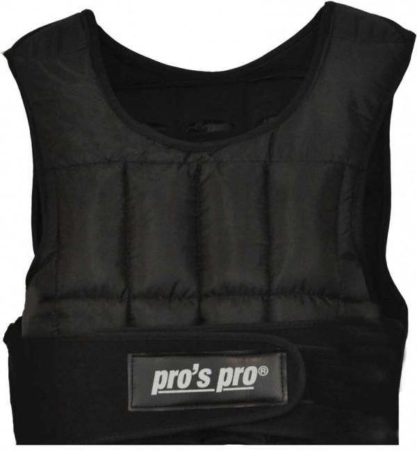 Pro's Pro Gewichtsweste 5 kg, kurz, 20 Einzelgewichte à 0,24 kg