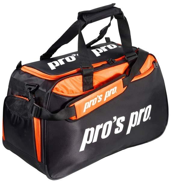 Pro's Pro Sporttasche schwarz-orange