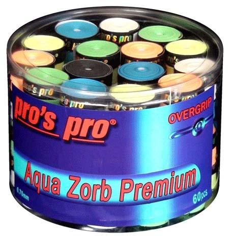 Pro's Pro Overgrips 60er Aqua Zorb Premium 0,70 mm sortiert trocken