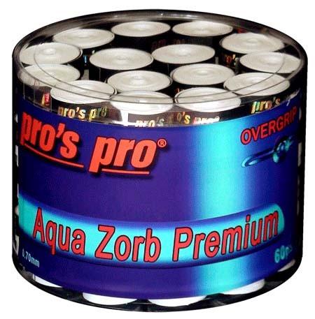 Pro's Pro Overgrips 60er Aqua Zorb Premium 0,70 mm weiss