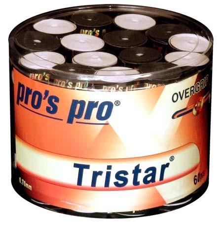 Pro's Pro Overgrips 60er Box Tristar 0,70 mm sortiert in schwarz + weiss klebrig