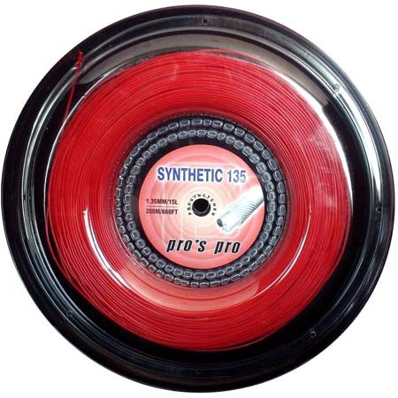 Pro's Pro Tennissaite 200 m multifil Synthetic 135 rot