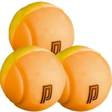 Pro's Pro Vibrationsdämpfer Tennis Ball Damper 3er gelb orange
