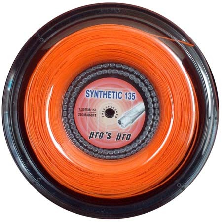 Synthetic 135 200 m orange