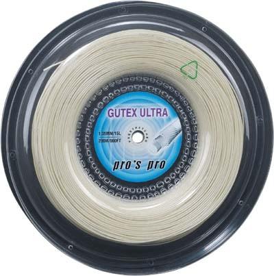 Pro's Pro Tennissaite 200 m Synthetik Gutex Ultra 1,35 mm natur
