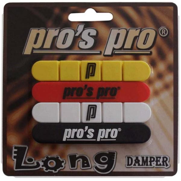 Pro's Pro Long Damper 4er schwarz weiss rot gelb