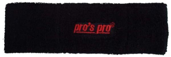 Pro's Pro Stirnband schwarz