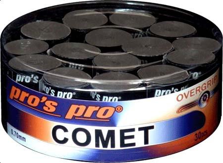 Pro's Pro Overgrips Comet Grip 0,70mm 30er schwarz