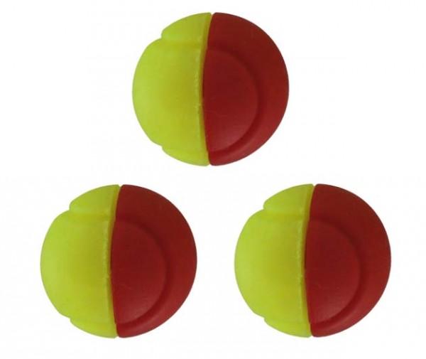 Tennis Ball Damper gelb/rot 3er