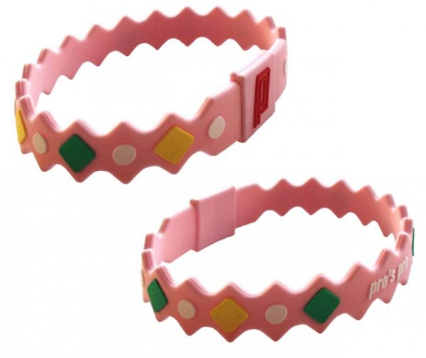 Pro's Pro Power Band No. 2 pink Armband Silikon