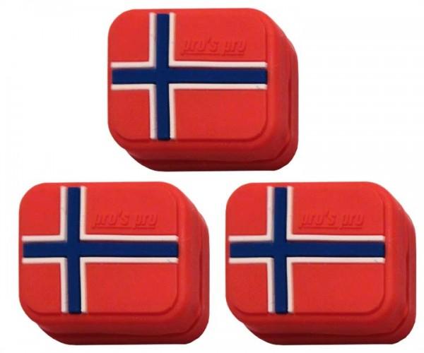 Pro's Pro Vibrationsdämpfer Vibra Stop Norwegen 3er eckig