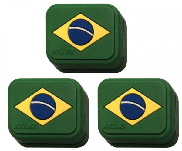 Pro's Pro Vibrationsdämpfer Vibra Stop Brasilien 3er eckig