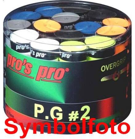 Pro's Pro Overgrips 60er P.G.2 0,7mm sortiert perforiert