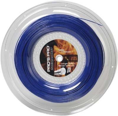 Pro's Pro Tennissaite Polyester 200 m Intense Heat 1,25 blau