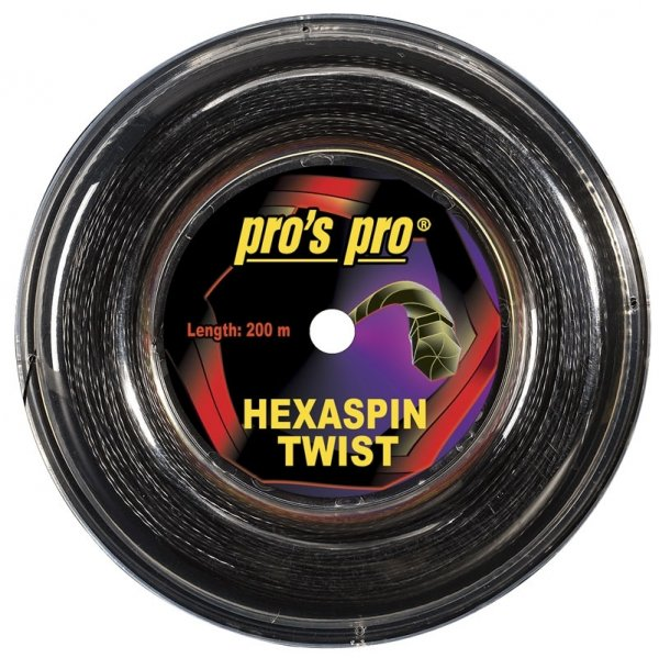 Pro's Pro Hexaspin Twist 1.25 200 m schwarz