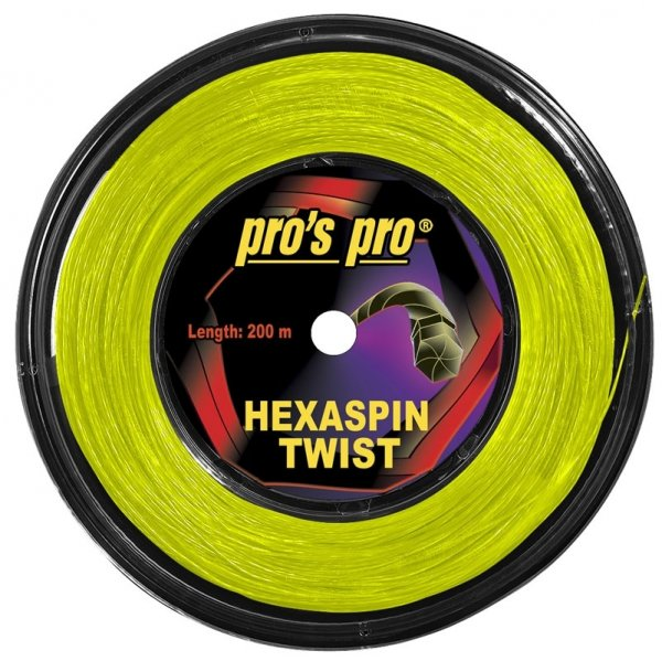 Pros Pro Hexaspin Twist 1.25 200 m lime