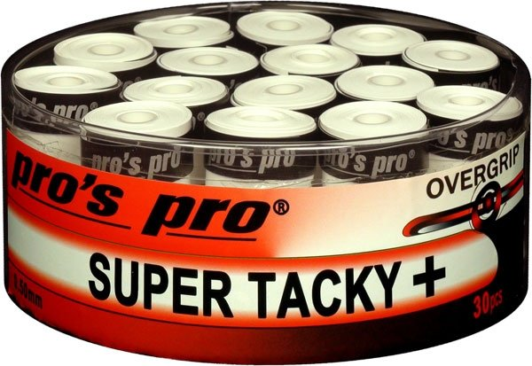 pros pro Tennis Griffband SUPER TACKY PLUS 30er weiss