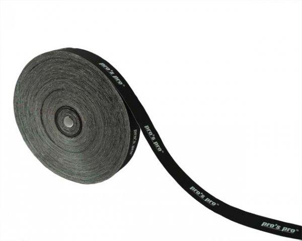 Pro's Pro Kopfschutzband 2,5 cm 50 m schwarz