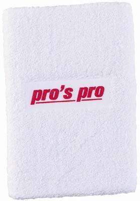 Pro's Pro Schweißband Oversize weiß