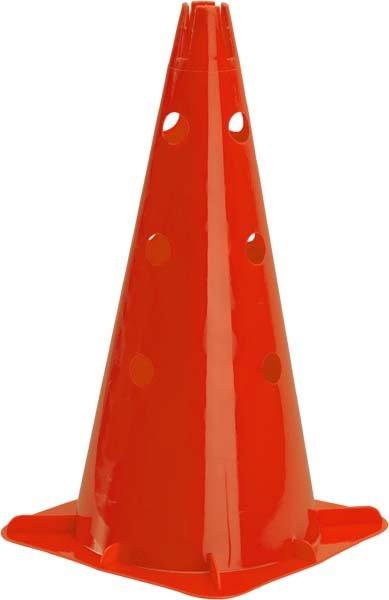 """Pro's Pro Markierungskegel 18"""" (46 cm) gelocht, orange"""