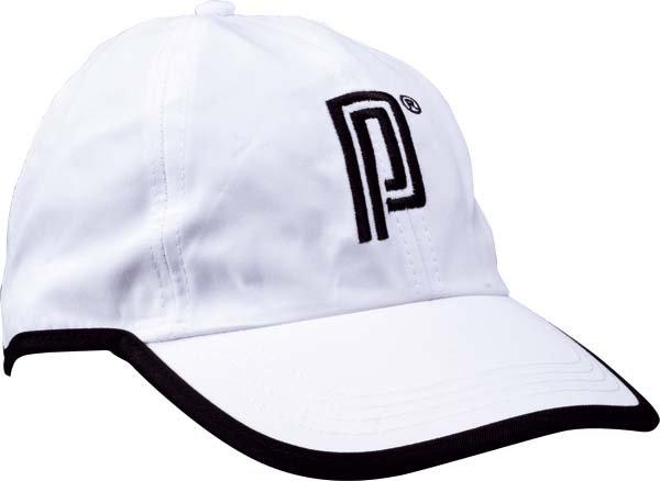 Pro's Pro Kappe 016 weiß + schwarzer Rand