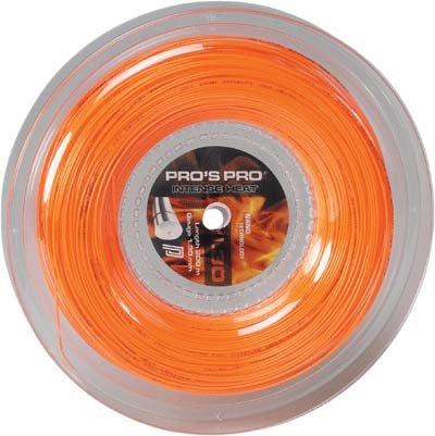 Pro's Pro Tennissaite Polyester 200 m Intense Heat 1,25 mm orange