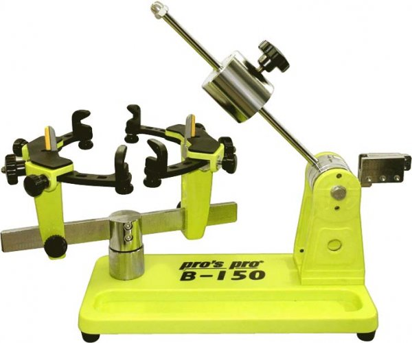 Pro's Pro B-150 Badminton Bespannmaschine Hebelarm gelb