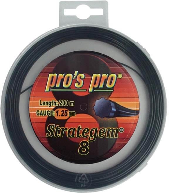 Pro's Pro Deutsche Polyestersaite 12 m Strategem 8 schwarz 1,25 mm