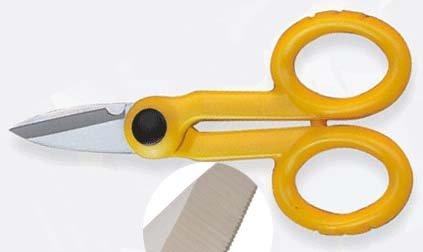 Pro's Pro Handwerker-Schere 145 mm gelb