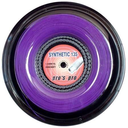 Pro's Pro Tennissaite 200 m multifil Synthetic 135 violett