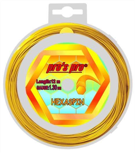 Pro's Pro Deutsche Polyestersaite Hexaspin 12 m 1,30 mm gold