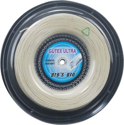 Pro's Pro Tennissaite 200 m Synthetik Gutex Ultra 1,35 mm natur