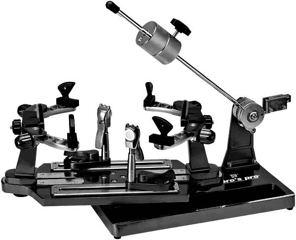 Pro's Pro Besaitungsmaschine Challenger I Hebelarm schwarz