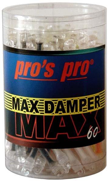 Pro's Pro Dämpfer Max Damper 60er Box sortiert in schwarz, gelb, weiß, orange